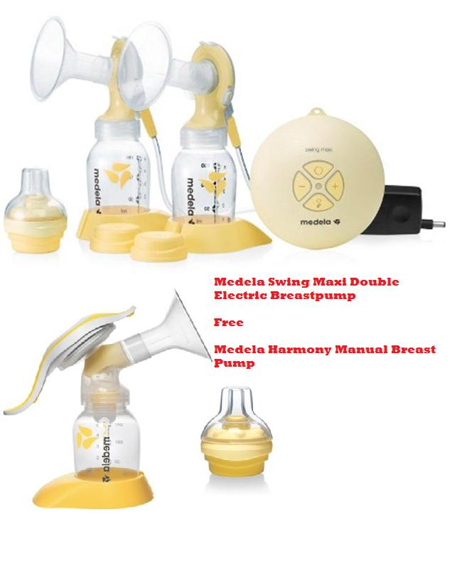 medela double select breast pump manual