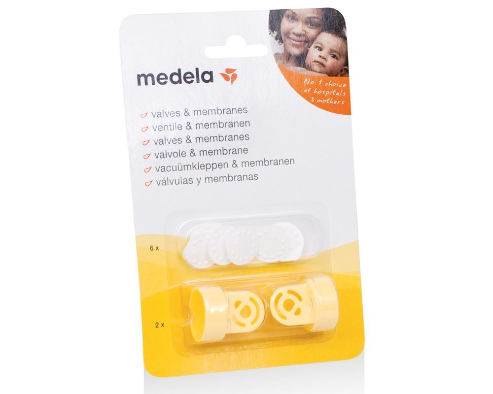 Medela Valves & Membranes 6pcs  membrane 2pcs valve 100% AUTHENTIC