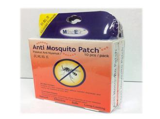 MedEx Anti Mosquito Patch (2 Boxes X 10 Patches) (Mosquito Repellent)