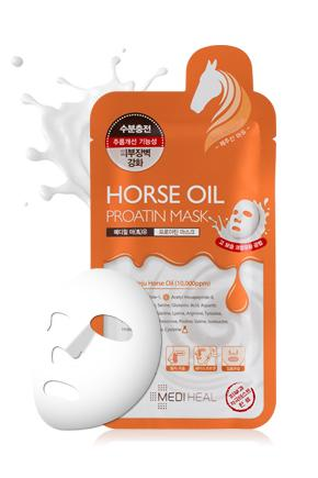 Mediheal Proatin Masks - Horse Oil - 10pcs/Box
