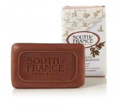 Mediterranean Fig, French Milled Bar Soap with Organic Shea Butter