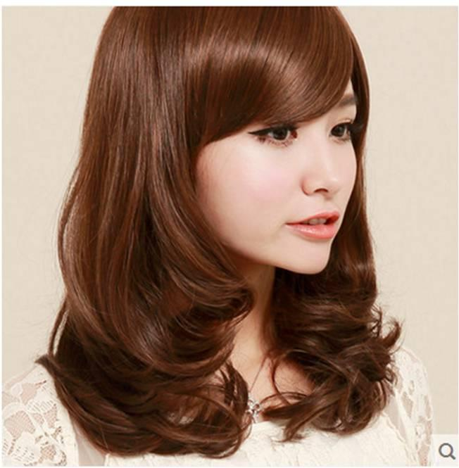 medium hair wig XI1/ ready stock/ rambut palsu