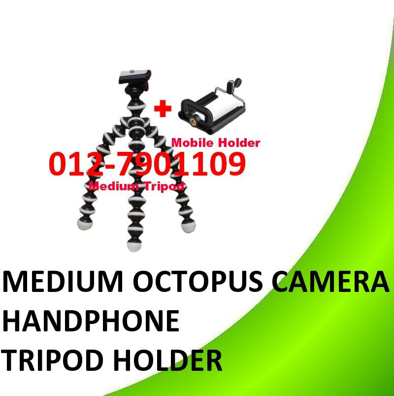Medium Octopus Camera tripod mobile handphone holder