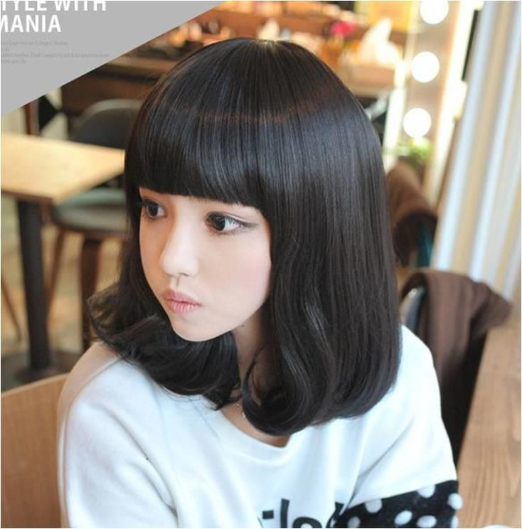 Medium Wig/J2/ready stock/ rambut palsu/promotion item
