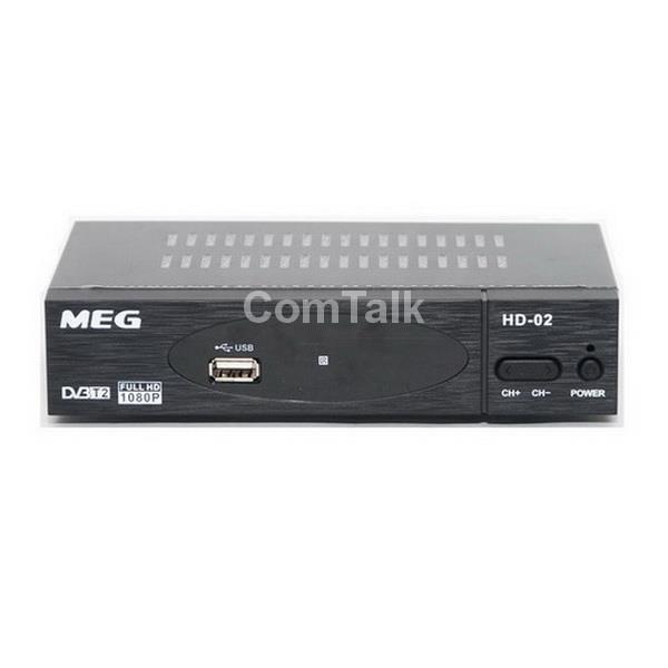 MEG DVB-T2 Digital HD TV Receiver with WiFi Adapter