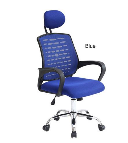 Mega D28 Exclusive Home Office Chair Deluxe Comfortable (BLUE)