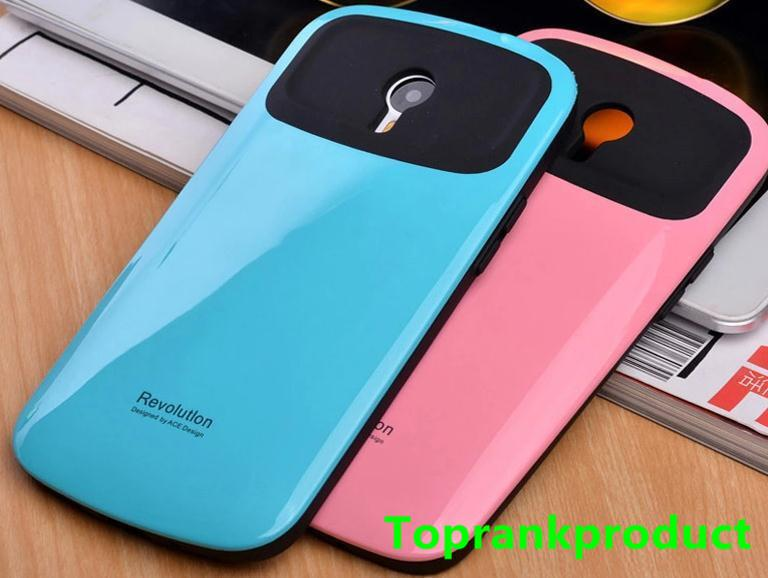Meizu M1 M2 Note ShakeProof Back Case Cover Casing + Free Gift