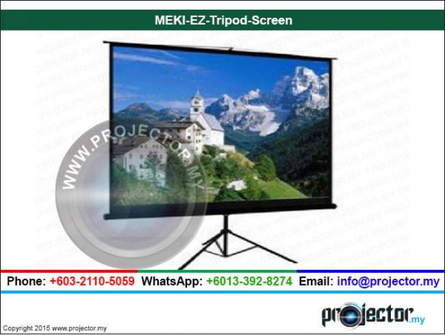 "MEKI EZ TRIPOD SCREEN MATT WHITE 60"" x 60"""