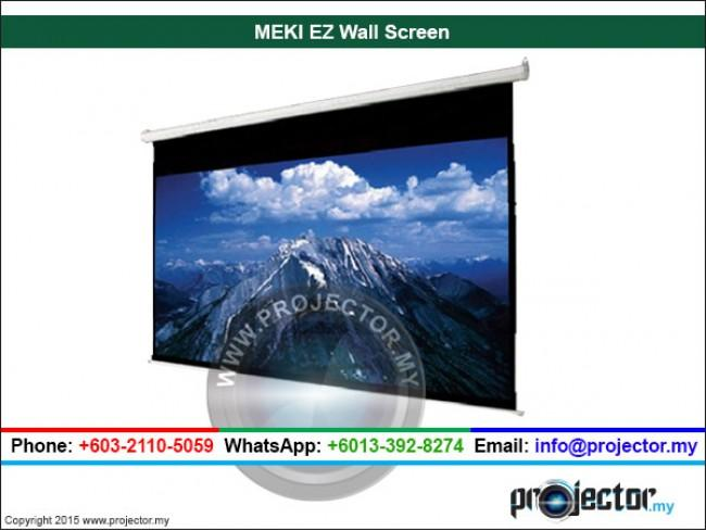 "MEKI EZ WALL SCREEN MATT WHITE 72"" x 96"" (120""D)"