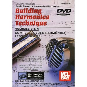 Mel Bay's Building Harmonica Technique Volume 1-4 | 2.7 GB