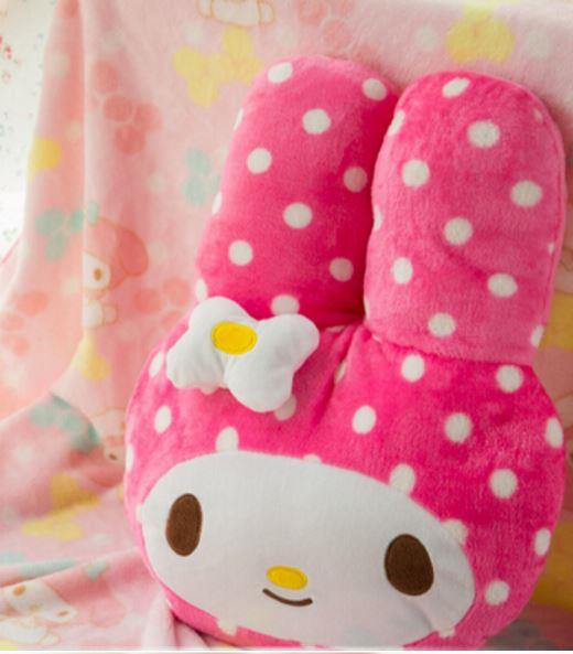 Melody Soft Toy (Pillow + Blanket) Pink 45X35CM