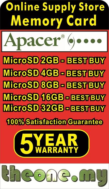 Memory Card Supplier : >> MicroSD 2GB / 4GB / 8GB / 16GB / 32GB <<