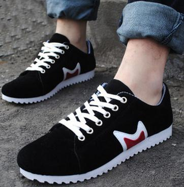 Men Casual canvas shoes breathable shoes