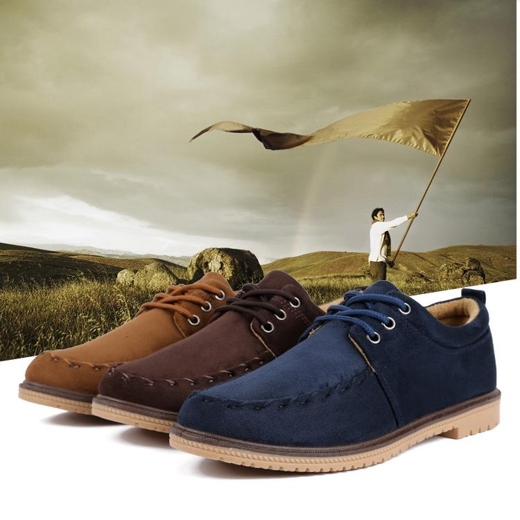 Men Casual Shoes sneakers Suede wedges shoes for men