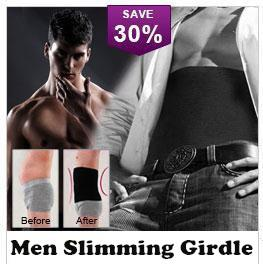 Men Man Girdle Belt Waist Abdomen Slimmer Slimming Body Shaper