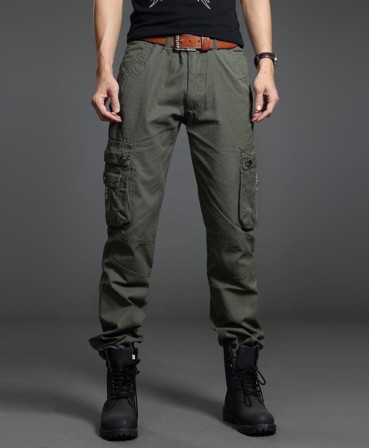 New Men Photographer Fishing Training Outdoor 6-Pockets Soldier Pants