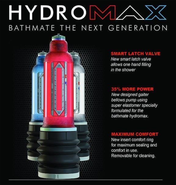 MEN PUMP HYDRO-MAX X30 100% ORIGINAL FROM UK FREE SHIPPING