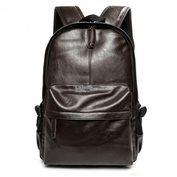 Men's Premium Leather Backpack
