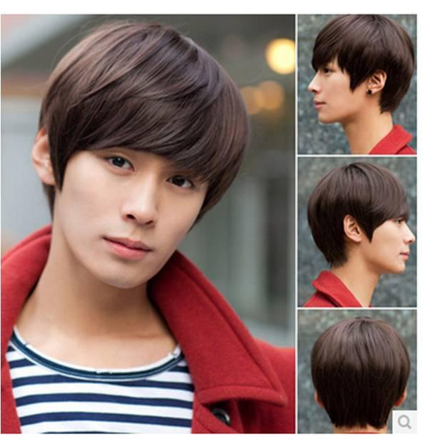 Men wig*G18-ready stock-rambut palsu