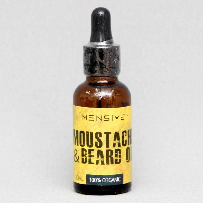 MENSIVE Moustache and Beard Oil MBO With Free Exclusive Pocket Perfume