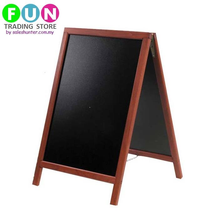Menu- Framed Chalkboard Chalk board/ Blackboard Black Board Sign