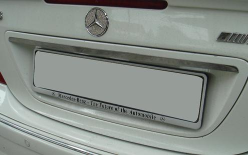 Mercedes Benz C-Class W203 `00-06 Trunk Lid Chrome ABS [Europe Type]
