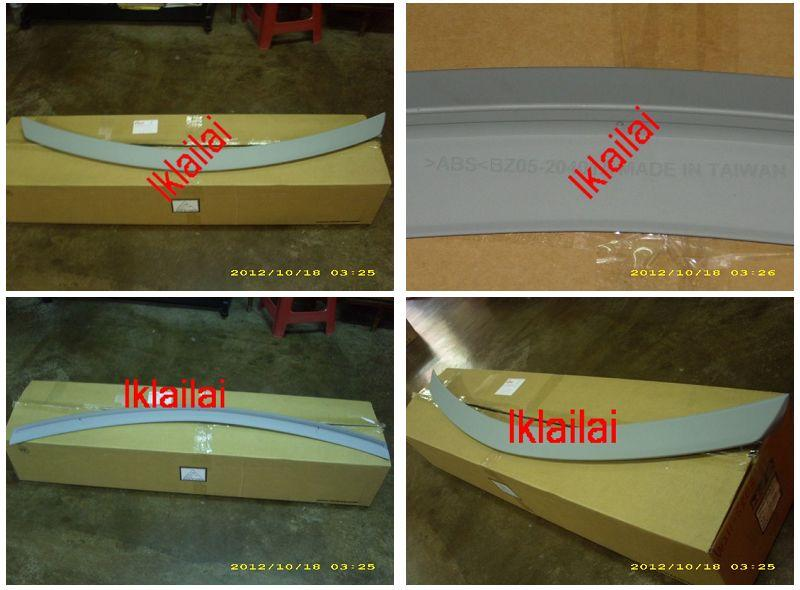 Mercedes Benz C-Class W204 `07 Rear Trunk Spoiler [W204-SR04-U]