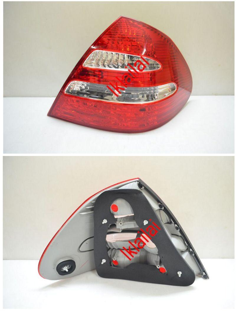 Mercedes Benz E-Class 03-06 W211 Tail Lamp Crystal