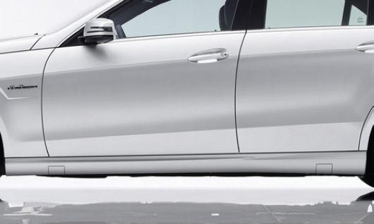 Mercedes Benz E-Class W212 `09-10 AM E63 Side Skirt PP [W212-BK02-U]
