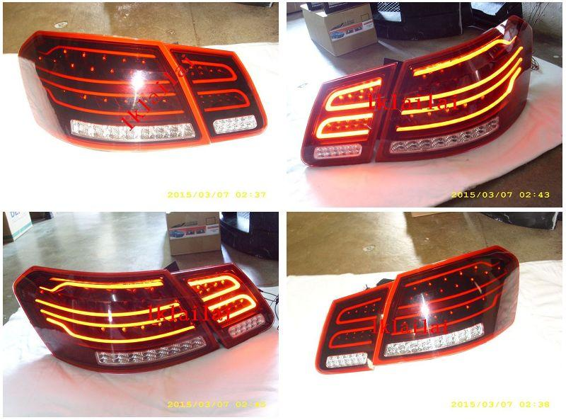 Mercedes Benz E-class W212 '10 LED Light Bar Tail Lamp [Red-Clear]