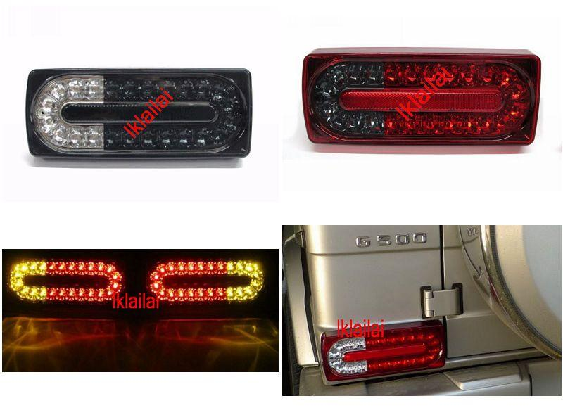 Mercedes Benz G Class W463 LED Tail Lamp Red Smoke [AMG Look] 3-Colour