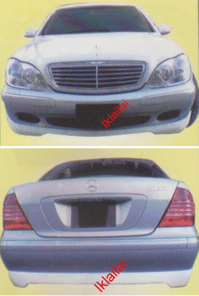 Mercedes Benz S-Class W220 '98-05 [FRONT & REAR SKIRT]