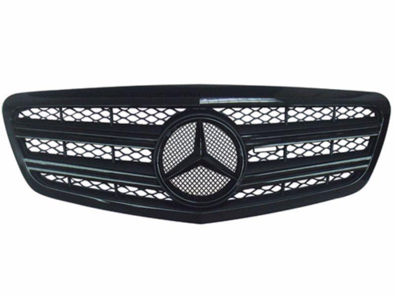 Mercedes Benz S-Class W221 '10 CL Sport Grille All Black [W221-FG03A-U
