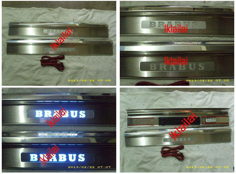 Mercedes Benz SLK R170 `96 / `00 Door / Side Sill Plate LED [2pcs/set]