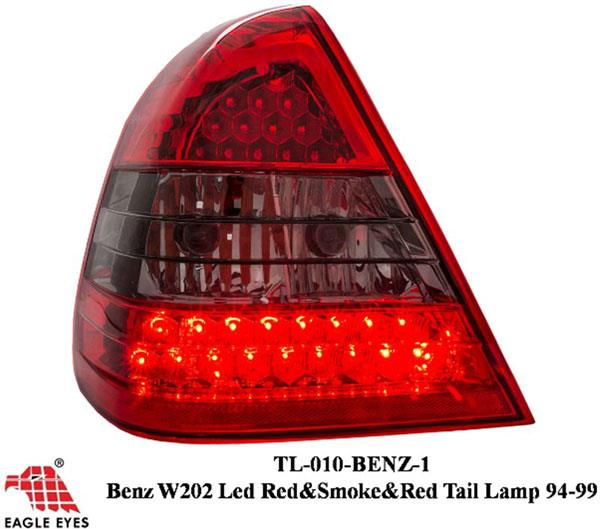 MERCEDES BENZ W202 C-Class 1994-99 EAGLE EYES Red/ Smoke LED Tail Lamp