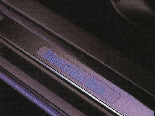 Mercedes Benz W210 `95-02 Door / Side Sill Plate LED [W210-DS01-U]
