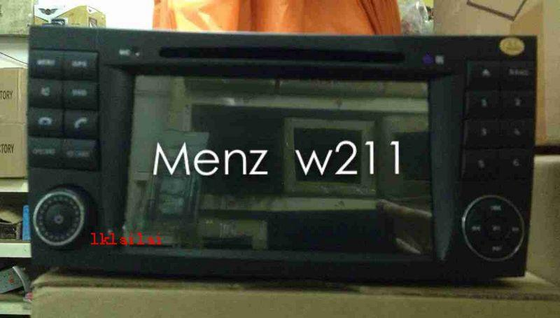 Mercedes Benz W211 7' Full HD Double Din DVD Player with GPS System