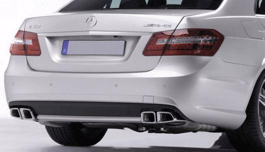Mercedes Benz W212 `09-10 AM E63 Rear Bumper PP W/Diffuser [W212-BK03-