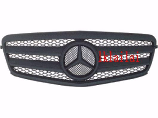 Mercedes Benz W212 `09-10 Sport Grille CLK Type Leather Black W212-FG0