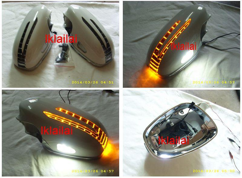 Mercedes Benz W219 '05 Door Mirror Cover Arrow Type+Manner Light Paint
