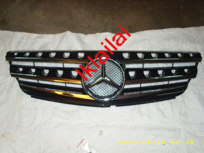 Mercedes  Benz W245 '05-ON Front Grille OEM [Black with Chrome Lining]