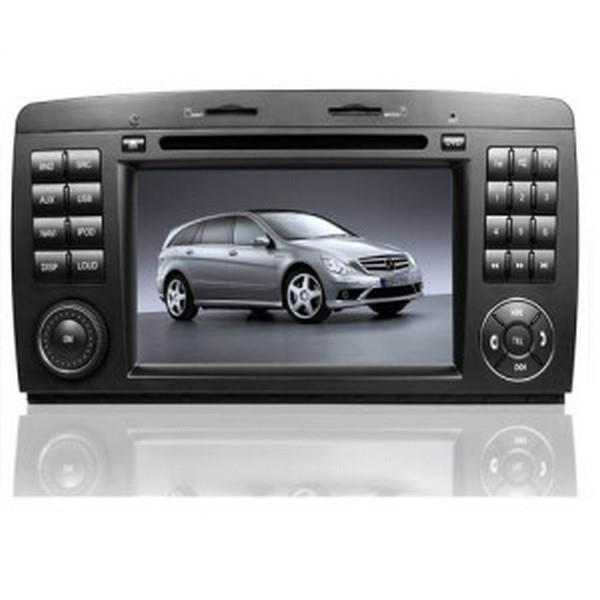 MERCEDES BENZ W251 R300 06-14 7' Double Din DVD BT GPS Free Camera TV