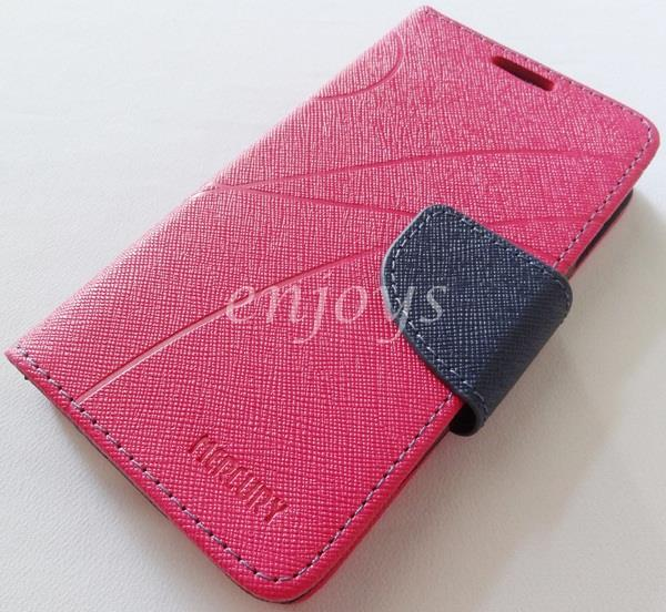MERCURY Fancy Diary Book Case Cover Pouch Lenovo A630 ~Hotpink