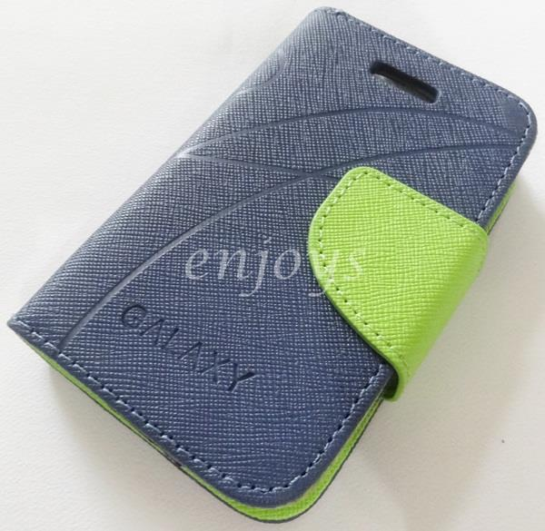 MERCURY Fancy Diary Book Case Pouch Samsung Galaxy Y Neo S5310 ~Navy
