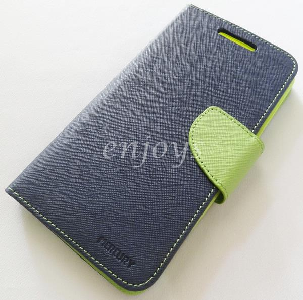 MERCURY Fancy Diary Case Cover Asus Zenfone 5 Lite A502CG / T00K ~NAVY