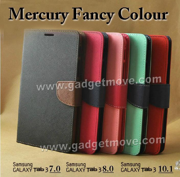 MERCURY FANCY Samsung Galaxy Tab S 8.4 Leather  Wallet Case Cover