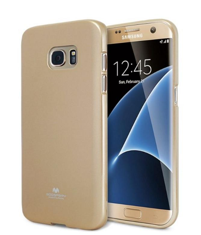 Mercury Goospery Galaxy S7 EDGE Transprent Clear Jelly Case Cover