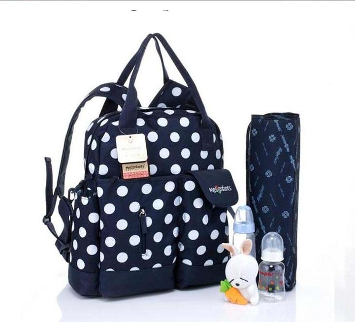 Mes Enfant Diaper Bag - Blue