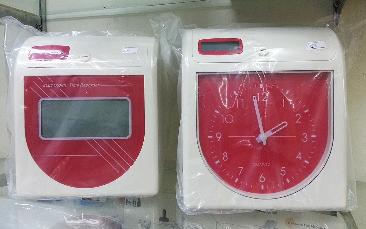 Mesin Punch Card Time Recorder