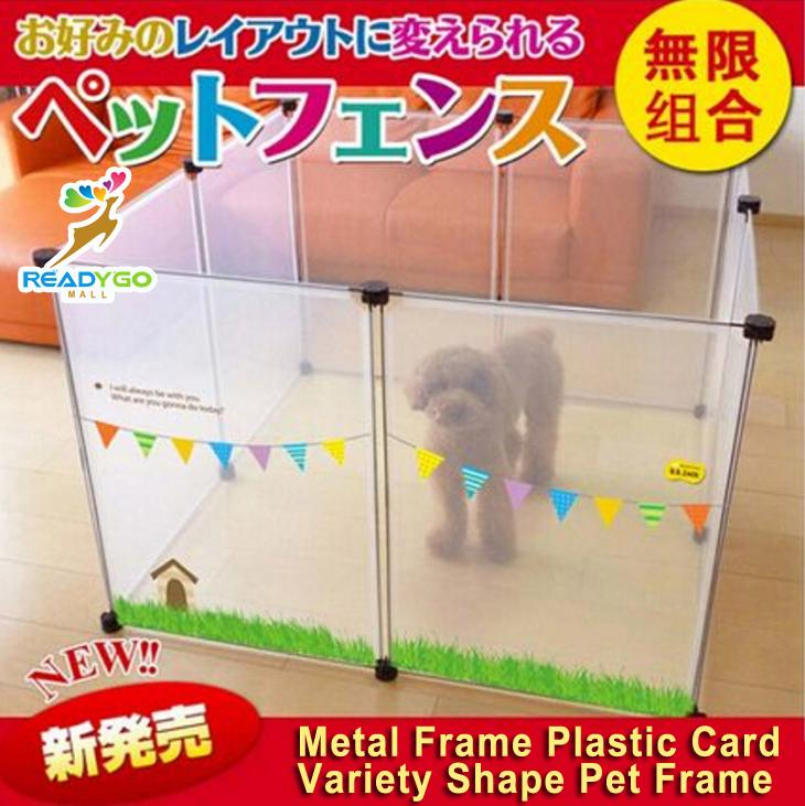 Metal Frame Plastic Card Variety Shape Pet Dog cat Frame
